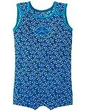 Schiesser Baby-Jungen Einteiler Aqua Bade-Body, Blau (Blau 800), 104 (Herstellergröße: 415)