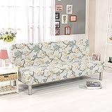 PengXiang - Copridivano e futon, fodera, tinta unita/diversi colori, pieghevole, elasticizzata, leggera, senza braccioli, 203x 127cm, protezione per mobili Pattern-a:80' X 50'