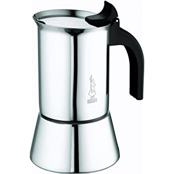 Bialetti - 1685 - Venus Induction - Cafetière Italienne en Inox - 10 Tasses