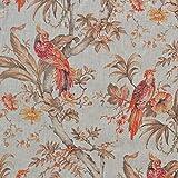 Textiles français Leinenstoff | Die Raubvögel (Luxe) -