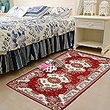 SLH Europäischen Stil Wohnzimmer Carpet Schlafzimmer Nacht küche Gang Flur Nacht Veranda bucht Fenster rote Matte
