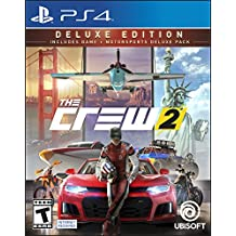 The Crew 2 Deluxe Edition - PlayStation 4 Deluxe Edition
