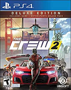 The Crew 2 - Deluxe Edition for PlayStation 4