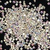 1440 Strasssteine aus Kristallglas Crystal AB SS6 Strass Steine Klar Irisierend