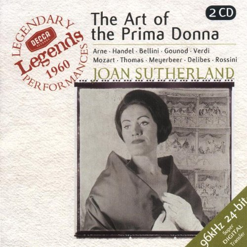 Joan Sutherland - The Art of the Prima Donna (coll. Decca Legends)