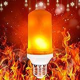 Neue VersionLed Flammen Lampe, ToWinle Glühbirne Flammen Licht E27 Flackernde Glühbirne 2300K Feuer Licht Dekorative Leuchte für Weihnachten Hause Garten Bar Party Hochzeit