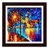 #7: Story@Home Exclusive Frame Wall Art Painting (Wood, 30 cm x 3 cm x 30 cm)
