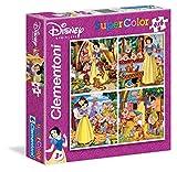 Clementoni 20519.6 Blancanieves - Puzzle (4 modelos de 6 piezas)