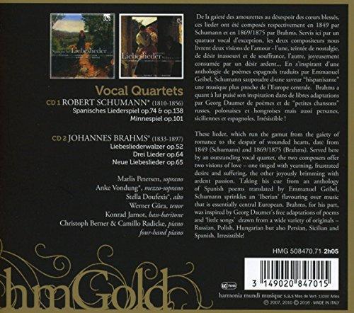 Schumann-Brahms / Vocal Quartets