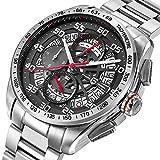Pagani Design Herren-Armbanduhr, Quarzuhrwerk, Luxus-Marke, Sport-Chronograph