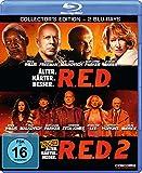R.E.D. - Älter. Härter. Besser / R.E.D. 2 [Blu-ray] [Collector's Edition] -