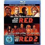 R.E.D. - Älter. Härter. Besser / R.E.D. 2 [Blu-ray]