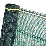 2m² 60% Schattiernetz in 2m Br. Sonnenschutznetz