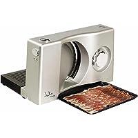 Jata CF301 Affettatrice Elettrico multiuso, 100W, Area di taglio in acciaio inox