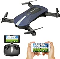 EACHINE E52, Drone con Telecamera HD 2.0MP Pieghevole APP Controllo Quadcopter RTF Drone per Bambini WiFi FPV 2.4G 6-Axis Headless Mode