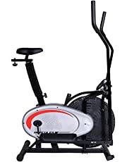 Hercules Fitness DB10 Dual Air Bike (Black/Silver)