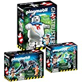 PLAYMOBIL® Ghostbusters Set: 9221 Stay Puft + 9223 Venkman & Terror-Dogs + 9224 Spengler & Ghost