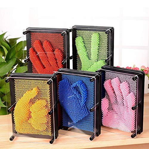 koede Creativo Classico Pin Art Game Set Pin Art Toy Gift per Bambini o Adulti Hobby e collezionismo