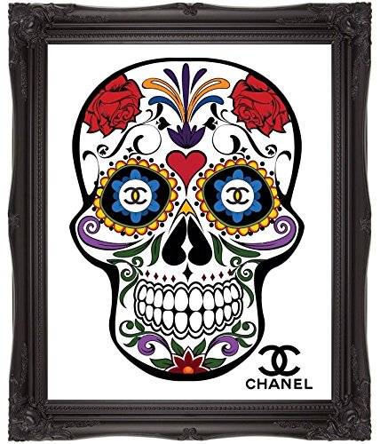 chanel-art-skull-art-sugar-candy-skull-skull-tattoo-sugar-skull-tattoo-graffiti-art-floral-art-carni
