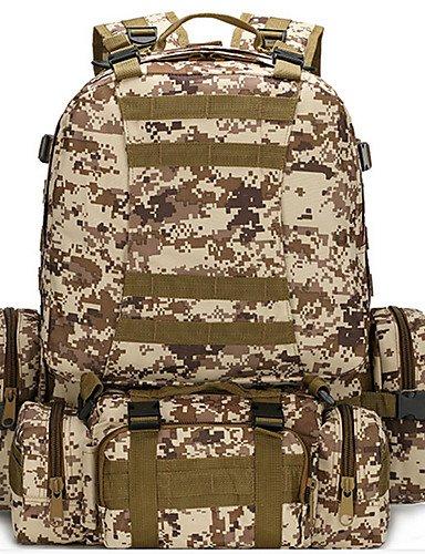 HWB/ 60L L Hüfttaschen / Tourenrucksäcke/Rucksack Camping & Wandern / Klettern Draußen / Legere Sport Wasserdicht / tragbar / Multifunktions jungle camouflage