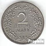 Deutsches Reich Jägernr: 320 1926 A sehr schön Silber 1926 2 Reichsmark Reichsadler (Münzen für Sammler)