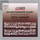 Bach: das Wohltemperierte Klavier Vol.1