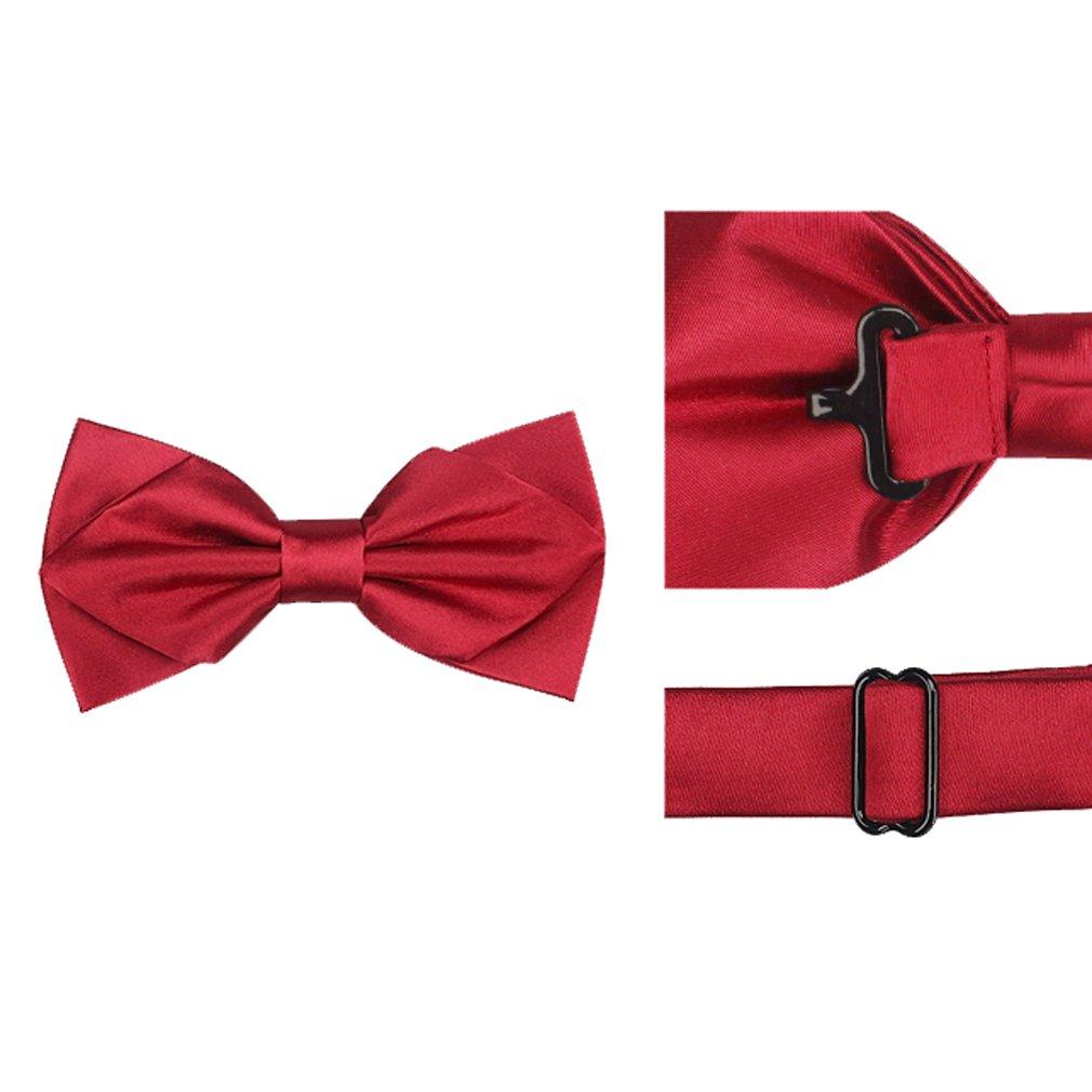 GUO - uomini della cravatta di arco vestono l'arco dell'arco del legame dell'arco matrimonio nozze i