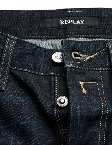 Replay Herren Jeanshose Newbill Blau (Blue Denim 7)
