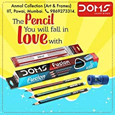 Doms Fusion X-TRA Super Dark Pencil (Pack of 2)