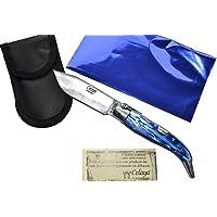 Coltello Celaya Classic Albacete Alluminio Pastora di Plastica blu navy 10,90 cms