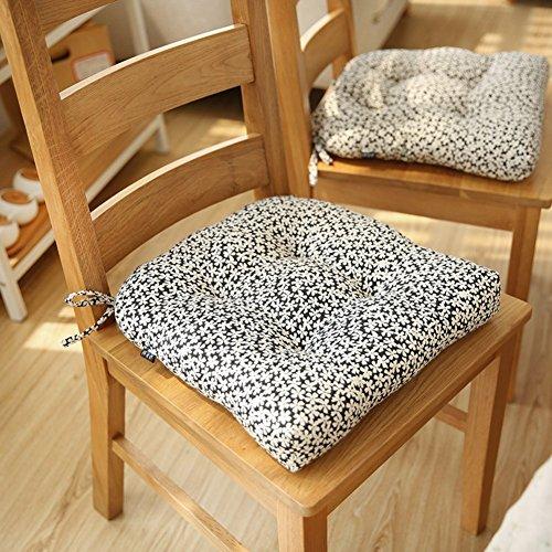 CCYYJJ Plain Fettpolster, Sitzkissen Stuhl Kissen Kissen Büro Computer Kissenbezug 40 X 40 Cm (16 X 16 Zoll)