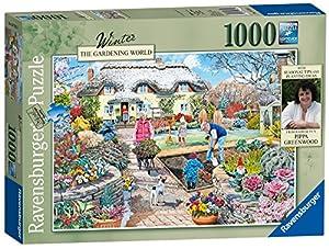 Ravensburger jardinería Mundo Invierno, 1000Jigsaw Puzzle