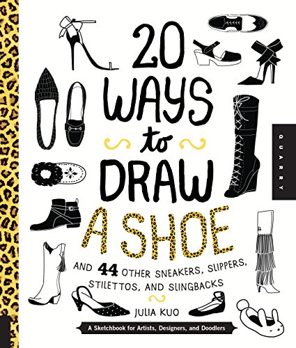 20 ways to draw a shoe par Julia Kuo