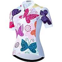 Maglia da ciclismo donna antisudore, maglia da ciclismo traspirante ad asciugatura rapida Magliette da donna…