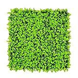 Künstlicher Efeu Blätter mit Grün, Bush, Pflanzen, Pflanzen Hintergrund Wand Sichtschutz Zaun Fencing, Garten mit, Packung mit 6Stück 20