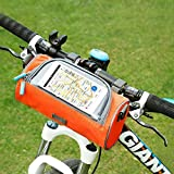#3: Vmoni Multifunctional Outdoor Mountain Bicycle Cycling Front Top Frame Pouch,Tube Bag,Bike Pouch,Mobile Phone Package,Bike Accessories Bag