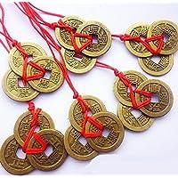Omeny Riqueza y éxito Monedas chinas del Feng Shui (Bronce)
