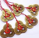 0ec5f568c1 Ruihcury Gadget per la Casa Antiche Monete Cinesi fortunati Le Monete Cinesi  del Feng Shui Portano