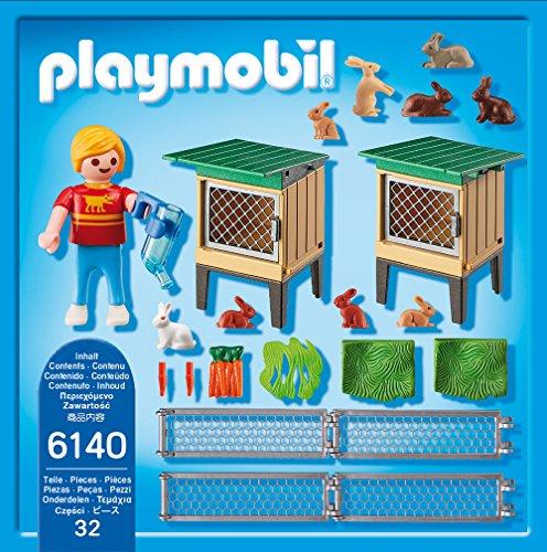 PLAYMOBIL Hasenstall mit Freigehege 6140 - 3