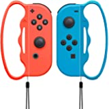 Fitness Boxing Game Grip Compatible with Nintendo Switch Joy-Con, Handle Accessories Suitable for Children and Adults, 2 Pack