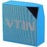 Altavoz bluetooth impermeable de IP67, Vtin Cuber Altavoz bluetooth 4.0 de 5W, con micrófono de Incorporado impermeable Para Ducha / Hogar / exterior, color Azul