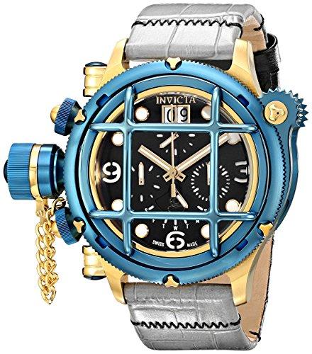 Invicta Men's 17343 Russian Diver Analog Display Swiss Quartz Grey Watch