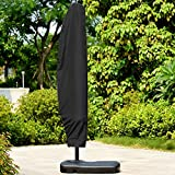 280cm Large Parasol Cover Outdoor Garden Banana Cantilever Waterproof Dustproof Rotary Air Dryer Umbrella Protector