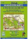 Dreisesselberg Im Dreiländereck Deutschland - Tschechien - Österreich: Philippsreut - Haidmühle - Neureichenau - Grainet (Fritsch Wanderkarten 1:35000) -