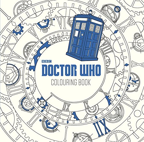 game of thrones malbuch Doctor Who: The Colouring Book