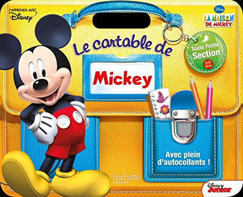 Le Cartable De Mickey Tps par Collectif Disney