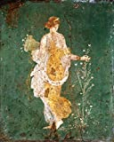Kunstdruck/Poster: 1. Jahrhundert Flora röm Wandmalerei 1