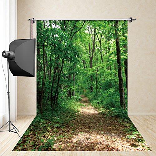 egenwald -Abenteuer Fotografie Hintergrund Requisiten Cosplay Fotografie PET-Fotografie FD-650 ()