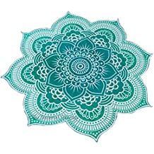 Flor Mandala toalla, mantel, plaid, tapiz, playa, cubre sofas, mantel