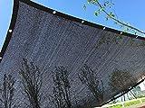 E.enjoy Rete Parasole Perfect Sunblock con Occhielli 70% UV Nero per Copertura Vegetale Serra per Stalla per Stalla O per Piscina (Size : 300cmX400cm)
